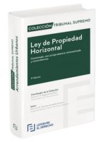 ley de propiedad horizontal comentada: coleccion tribunal supremo-9788416924493