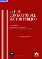 ley de contratos del sector publico 2018 concordancias, jurisprud encia, normas complementarios e indice analitico jose luis gil ibañez 9788417135393