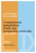competencias matematicas desde una perspectiva curricular luis rico romero 9788420684093