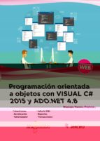 programacion orientada a objetos con c# 2005 y ado. net 4.6 9788426725493
