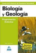 cuerpo de profesores de enseñanza secundaria: biologia y geologia . programacion didactica-9788466558693