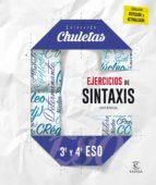 El libro de Ejercicios de sintaxis 3.º y 4.º eso (chuletas 2016) autor VV.AA. EPUB!
