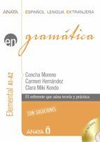 gramática. nivel elemental a1-a2-concha moreno garcia-9788467885293