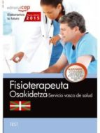 FISIOTERAPEUTA. SERVICIO VASCO DE SALUD-OSAKIDETZA. TEST