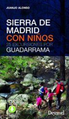 sierra de madrid con niños-juan jose alonso checa-9788498293593