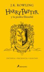 harry potter y la piedra filosofal (hufflepuff) 20 años de magia j.k. rowling 9788498388893