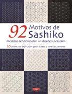92 motivos de sashiko-9788498745993