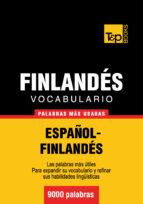 VOCABULARIO ESPAÑOL-FINLANDÉS - 9000 PALABRAS MÁS USADAS (EBOOK)