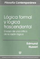 LOGICA FORMAL Y LOGICA TRASCENDENTAL
