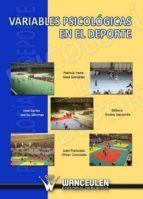 VARIABLES PSICOLÓGICAS EN EL DEPORTE (EBOOK)