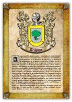 APELLIDO ACEITUNO / ORIGEN, HISTORIA Y HERÁLDICA DE LOS LINAJES Y APELLIDOS ESPAÑOLES E HISPANOAMERICANOS (EBOOK)