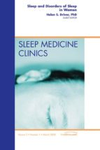 Sleep and Disorders of Sleep in Women, An Issue of Sleep Medicine Clinics 3-1, (The Clinics: Internal Medicine)