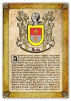 APELLIDO ACEÑA / ORIGEN, HISTORIA Y HERÁLDICA DE LOS LINAJES Y APELLIDOS ESPAÑOLES E HISPANOAMERICANOS (EBOOK)