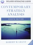 CONTEMPORARY STRATEGY ANALYSIS (8TH ED.)