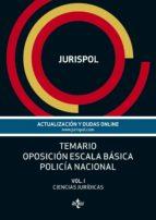 TEMARIO OPOSICIÓN ESCALA BÁSICA POLICÍA NACIONAL (EBOOK)