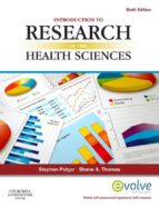 INTRODUCTION TO RESEARCH IN THE HEALTH SCIENCES (EBOOK)