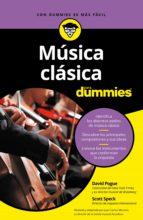 MÚSICA CLÁSICA PARA DUMMIES (EBOOK)