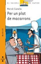 PER UN PLAT DE MACARRONS
