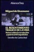 El resentimiento trágico de la vida (Alianza Tres (At))