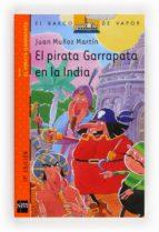 El pirata Garrapata en la India (Barco de Vapor Naranja)