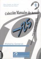 HISTORIA GENERAL: CURSO PREPARATORIO DE ACCESO A LA UNIVERSIDAD P ARA MAYORES DE 25 AÑOS