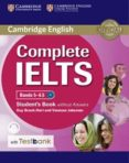 COMPLETE IELTS BANDS 5-6.5 STUDENT S BOOK WITHOUT ANSWERS WITH CD-ROM WITH TESTBANK - 9781316602003 - VV.AA.