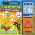 LOS NUMEROS: COMPLETA Y APRENDE - 9788428538503 - VV.AA.