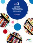 LENGUA Y LITERATURA 3º ESO MEC - 9788467852103 - VV.AA.