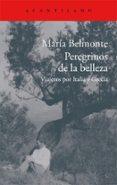 peregrinos de la belleza: viajeros por italia y grecia-maria belmonte barrenechea-9788416011513
