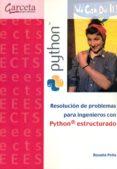 RESOLUCION DE PROBLEMAS PARA INGENIEROS CON PYTHON ESTRUCTURADO - 9788416228713 - ROSALIA PEÑA