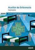 AUXILIARES DE ENFERMERIA SERVICIO ANDALUZ DE SALUD: CUESTIONARIOS - 9788490841013 - VV.AA.