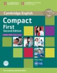COMPACT FIRST SECOND EDITION STUDENT S BOOK WITHOUT ANSWERS WITH CD-ROM - 9781107428423 - VV.AA.