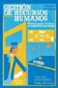 GESTION DE RECURSOS HUMANOS: MANUAL TECNICOS EMPRESAS TURISTICAS - 9788477381723 - FERNANDO BAYON MARINE