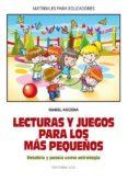 lecturas y juegos para los más pequeños (ebook)-isabel aguera-9788490238523