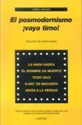 EL POSMODERNISMO, ¡VAYA TIMO! - 9788492422623 - GABRIEL ANDRADE