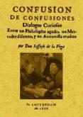 CONFUSION DE CONFUSIONES (ED. FACSIMIL) - 9788497616423 - JOSE DE LA VEGA