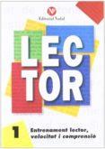 ENTRENAMENT LECTOR, VELOCITAT I COMPRENSIÓ Nº 1 LLETRA MANUSCRITA - 9788486545833 - VV.AA.