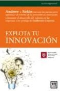 EXPLOTA TU INNOVACION - 9788483560143 - VV.AA.
