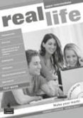 REAL LIFE GLOBAL UPPER INTERMEDIATE TEST BOOK & TEST AUDIO CD PAC - 9781408243053 - VV.AA.