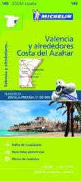 MAPA ZOOM VALENCIA Y ALREDEDORES, COSTA DEL AZAHAR 2017 - 9782067218253 - VV.AA.