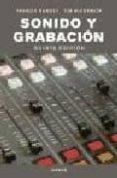 SONIDO Y GRABACION - 9788428214353 - VV.AA.