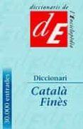 DICCIONARI CATALA FINES - 9788441209053 - H.M. ROCOSA