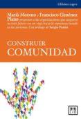 CONSTRUIR COMUNIDAD - 9788483565353 - MARIA MORENO