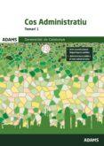 COS ADMINISTRATIU TEMARI 1 GENERALITAT DE CATALUNYA - 9788491473053 - VV.AA.
