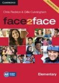 FACE2FACE FOR SPANISH SPEAKERS CLASS AUDIO CDS (3) (LEVEL ELEMENT ARY) - 9781107422063 - VV.AA.