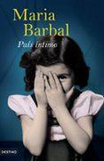 PAIS INTIMO - 9788423339563 - MARIA BARBAL