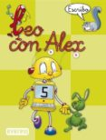LEO CON ALEX 5. ESCRIBO (PAUTA) (EDUCACION INFANTIL) - 9788424182663 - CARMEN ET AL. CALVO