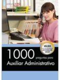 1000 PREGUNTAS PARA AUXILIAR ADMINISTRATIVO - 9788468164663 - VV.AA.