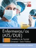 ENFERMERAS/OS CONSELLERIA DE SANITAT UNIVERSAL I SALUT PUBLICA: GENERALITAT VALENCIANA: SIMULACROS DE EXAMEN - 9788468171463 - DESCONOCIDO