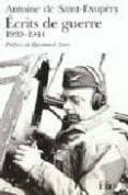 ECRITS DE GUERRE 1939-1944 - 9782070388073 - ANTOINE DE SAINT-EXUPERY